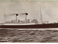1 RMS Franconia_Front of Postcard