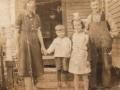 Maria (Drover) Peddle, Jim Peddle, Ruby Peddle and Archer  Peddle