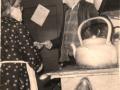 Martha Ann Strowbridge and mailman Norm Spurrell Butter Cove