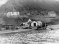 Johnny Shaw's house & waterfront  Caplin Cove