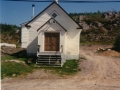 Front of the Old Victory  Pentecostal Church at Little Heart's Ease. (Photo donated by Edith  Norris)