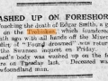 Washed up on Foreshore-Southwales Weekly Post-1918-12-21