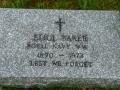 Eliol Bakers Headstone