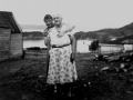 Ivy (Spurrell) West 1935-2011 and her grandmother, Joanna (Robbins) Smith, 1883-1963.