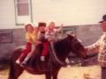 Horse Tom-Az King with Grandchildren