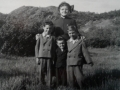 Jessie Ann Price with grandsons Oswald Wesley and Rodery Stringer