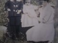 Lewis and his sister Jennie with their mother Susie (Lacey)Jacobs. (Courtesy of daughter Maxine)