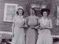 L-R Melita Green, Caroline Pitcher, and Clara Maud Pitcher. (Donated by Gordon Banton)