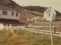 St. Joseph's Catholic School and Church, Gooseberry Cove circa mid 1970s. (Photo credit Marjorie Smith)