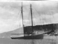 schooner A. Davis anchored at Long Beach