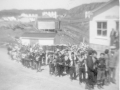 St. Mary's School, Hodge's Cove, 24th May 1959 parade,