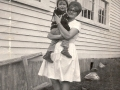 Pearl Smith with Carl Bishop Hatchet Cove 1965 66