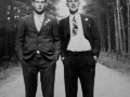 Alex Peddle and Eliab Smith  in England during WW2