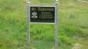 St. Alphonsus Roman Catholic Cemetery, Little Heart's Ease