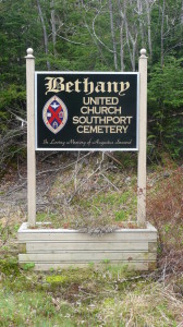Bethany (new) United Church Cemetery, Southport