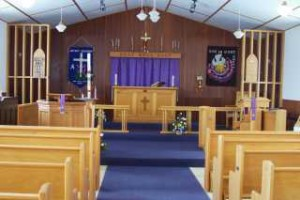 St Marks interor