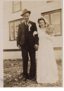Gordon Banton and Olive Pitcher were married on January 3, 1946. They moved to Winterton when the people of St. Jones Without abandon the community because the community was lacking in community governmental services such as roads and medical facilities.