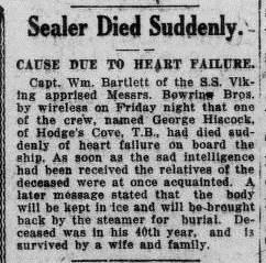 Evening Telegram 19 Mar 1923