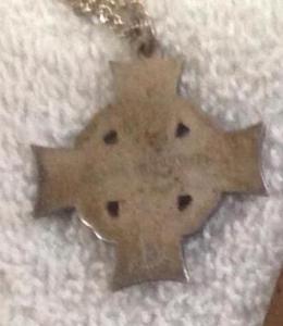 Edgar Smith Military Cross back