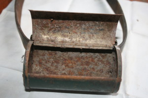 Inside bait box.