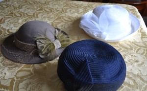 Ladies' hats from the 1940's-1950's
