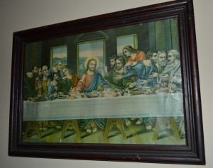Picture of the Last Supper owned by William and Gertrude Spurrell