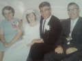 left to right Priscilla Drodge Janet Roebotham Alec Strowbridge Joe Drodge in Toronto