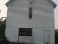 Front of St. Joseph's Catholic Church, Gooseberry Cove. (Photo by Lester Green)