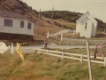 St. Joseph's Catholic School and Church, Gooseberry Cove circa mid 1970s. (Photo credit Marjorie Smith)