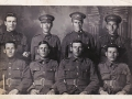 Pte Abel Churchill  is the first soldier on far left in top row Photo courtesy of Fred Shaw and Audrey Drodge