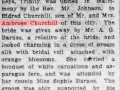 Wedding of Eldred Churchill_Evening Telegram_Sept 15, 1921_2