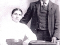 Moses Seward and his wife Jessie Stringer.