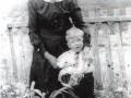 Cassandra Vey (nee Baker) with her grandson, Milton Vey.