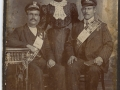 Moses Martin, Mary Stringer, and George Martin (Photo donated by Dorthy Martin)