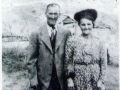 Solomon Peddle (1873-1951) and his 2nd wife Neomi Benson (1890-1965) Photo courtesy of Phyllis Stringer