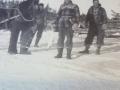 Peddle Baxter with Gordon Vey Eric Vey horse Nell 1956